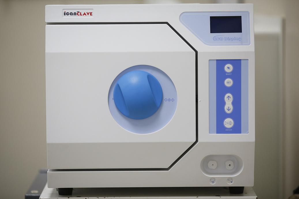 19 Autokláv - parní sterilizace _S4B3162